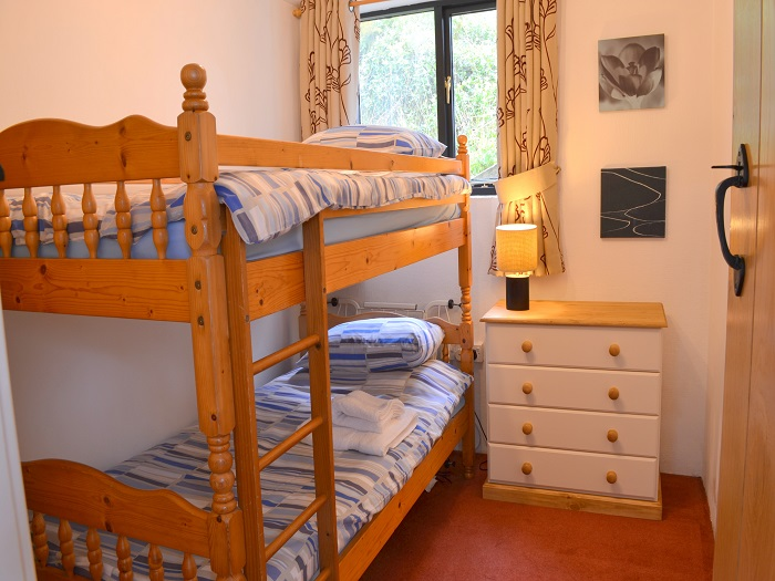 Heron Cottage Bunk Bedroom at Robin Hill Farm Cottages