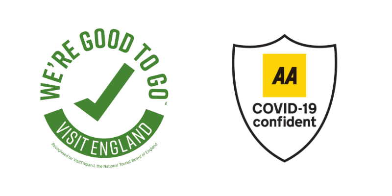 Visit England and AA Confident logos